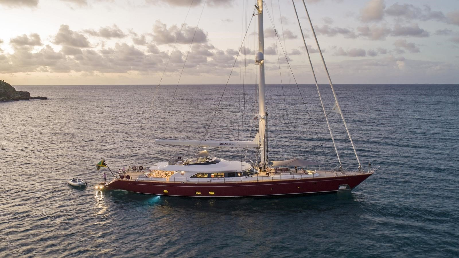 blush yacht for charter