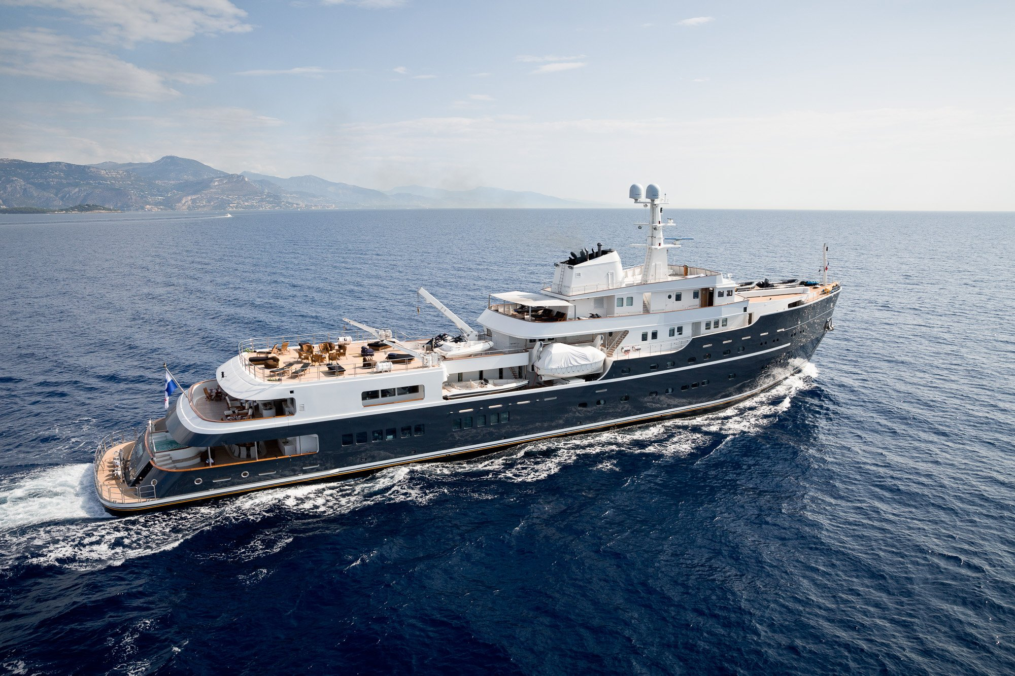 yacht for charter legend