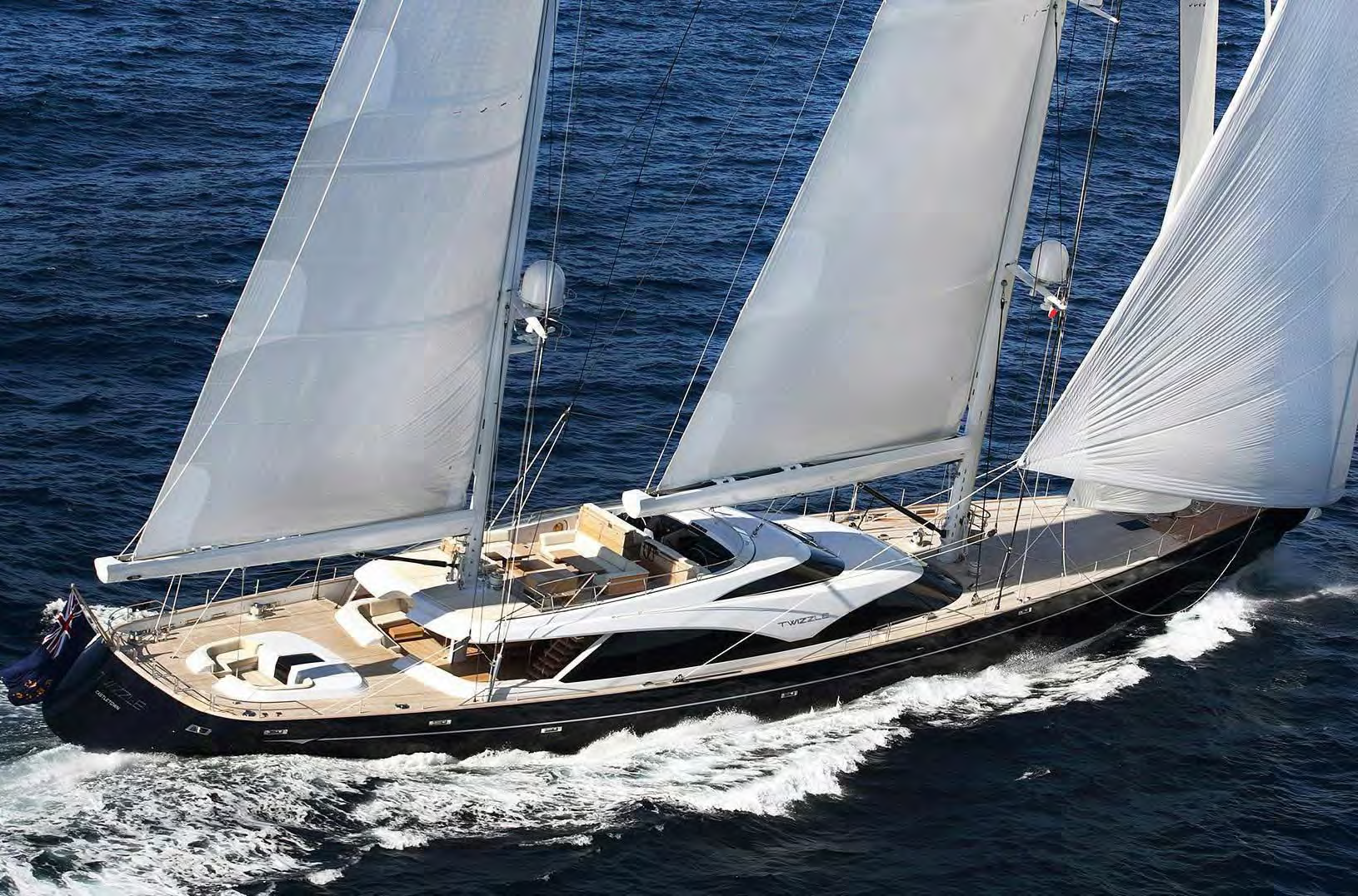 Sail Yacht TWIZZLE for Charter with SuperYachtsMonaco