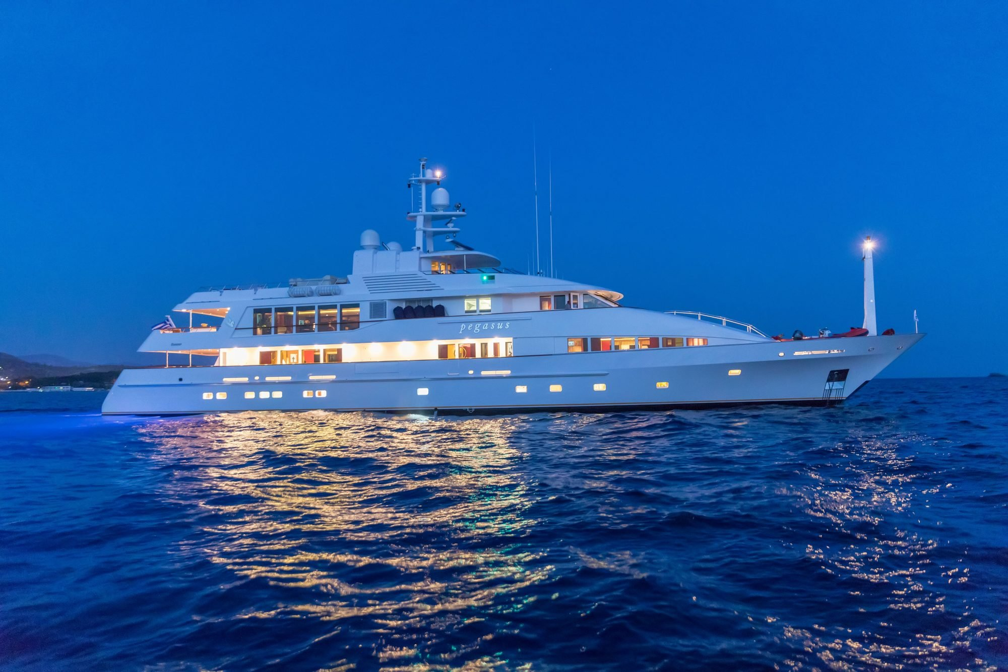 pegasus yacht for charter