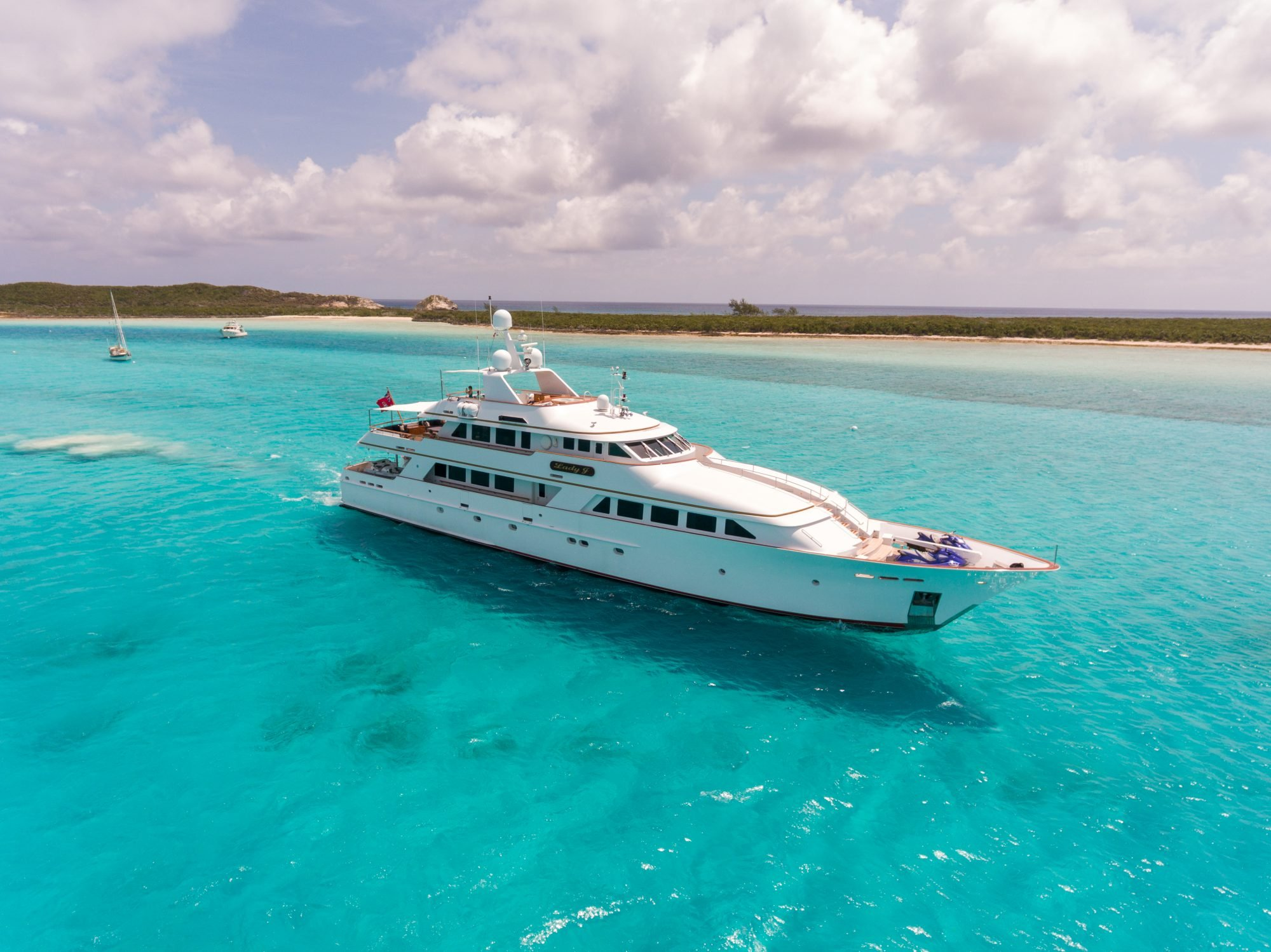 lady j yacht for charter