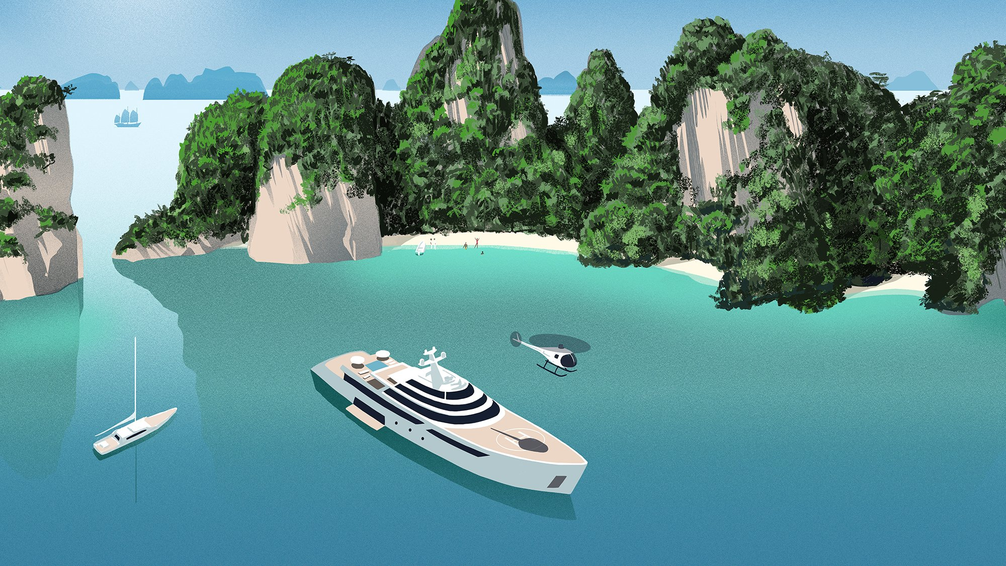 yacht charter asia