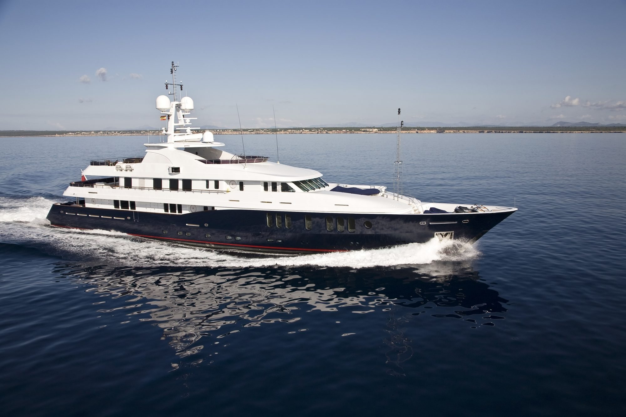 yacht for charter rare find