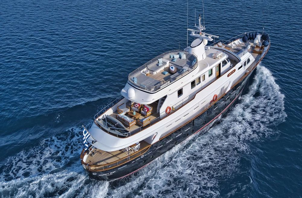 Classic Benetti Yacht HAPPY DAY Joins the SuperYachtsMonaco Sales Fleet