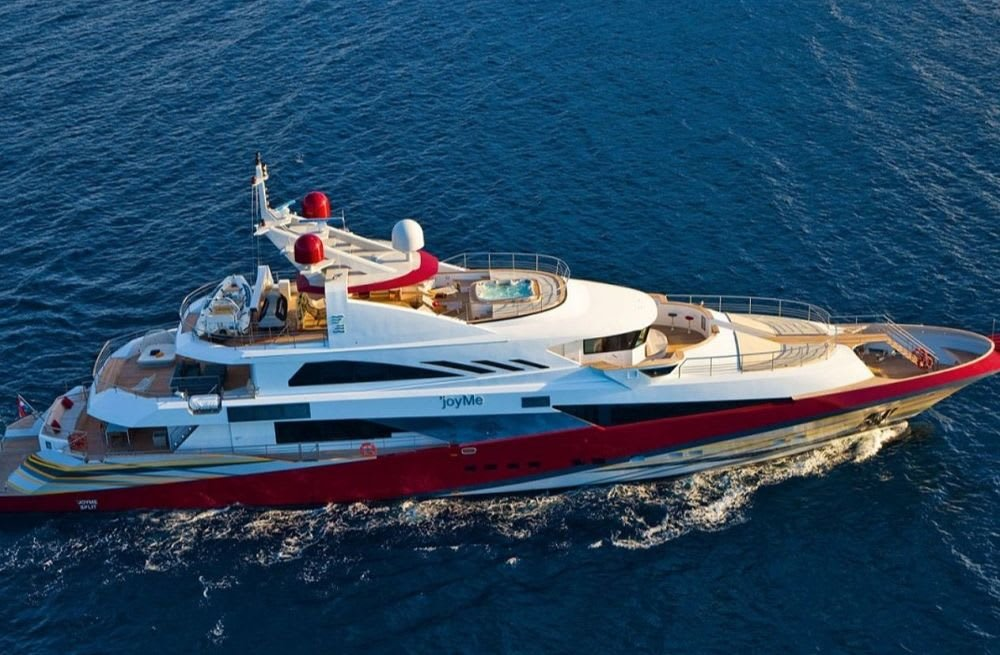 SuperYachtsMonaco is Appointed Central Agent for the Sale of JoyMe