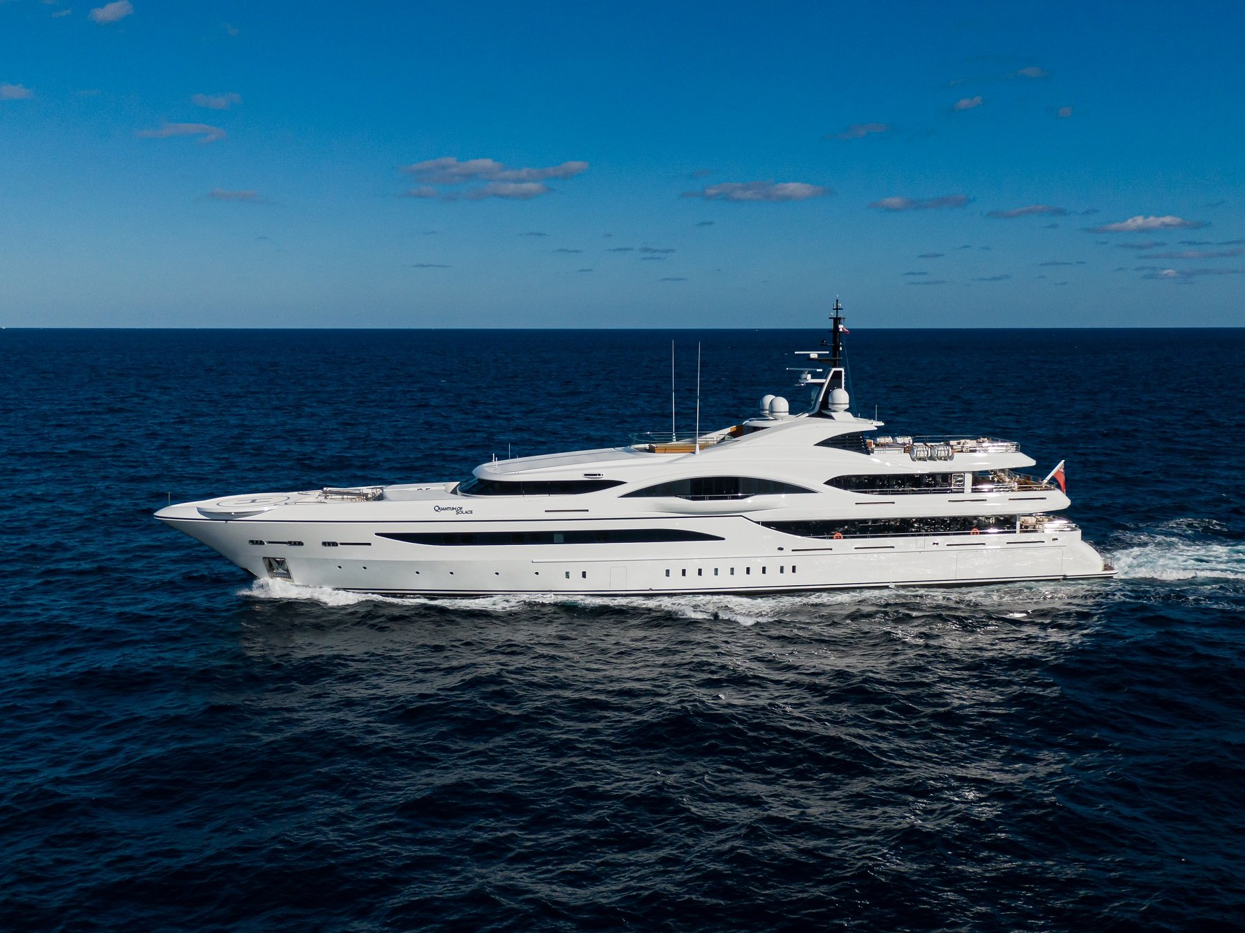 Quantum of Solace yacht for sale