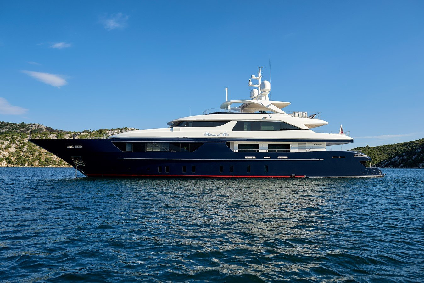 Motor Yacht REVE D'OR for Sale with SuperYachtsMonaco