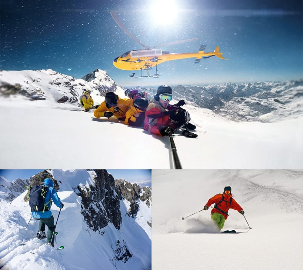 Heliskiing from your Superyacht