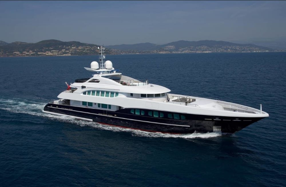 New Worldwide Charter Central Agent for 46m Heesen, M/Y NASEEM