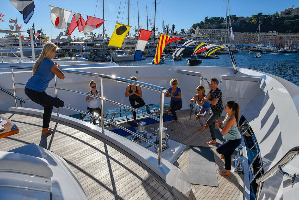 Yoga Moves to Perform Onboard a Yacht