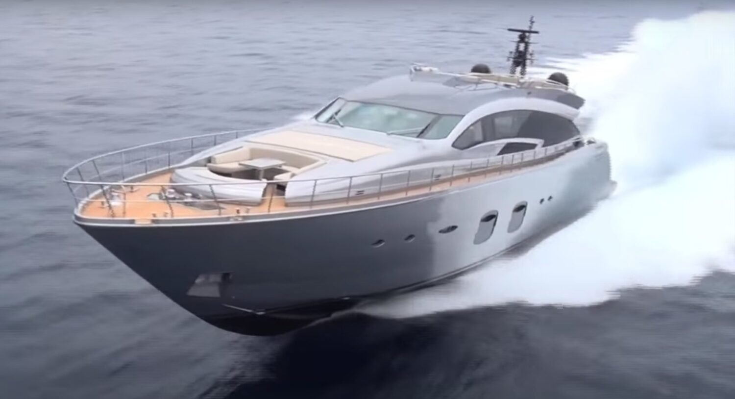 M/Y P108 Hull from Pershing Yachts