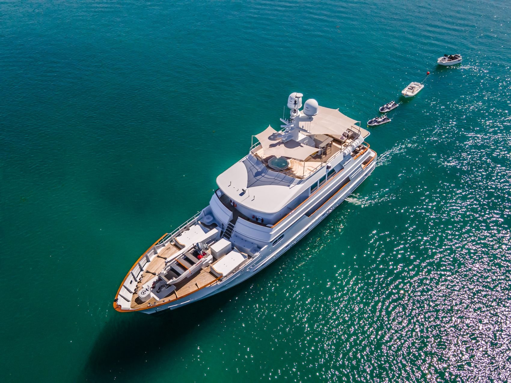 M/Y RELENTLESS Available for Charter with SuperYachtsMonaco